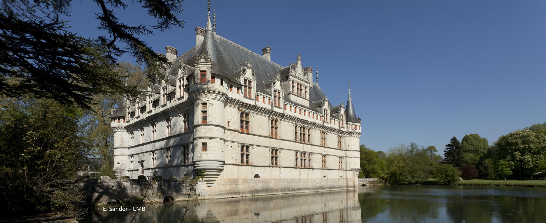 Chateau d'Azay-le-Rideau Villandry, Chenonceau