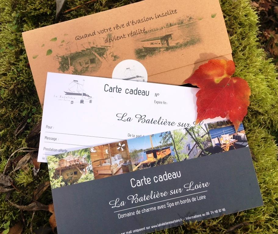 Carte / Coffret cadeau cabane
